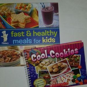 Cookbooks Pillsbury Scholastic Kids Meals Snacks +